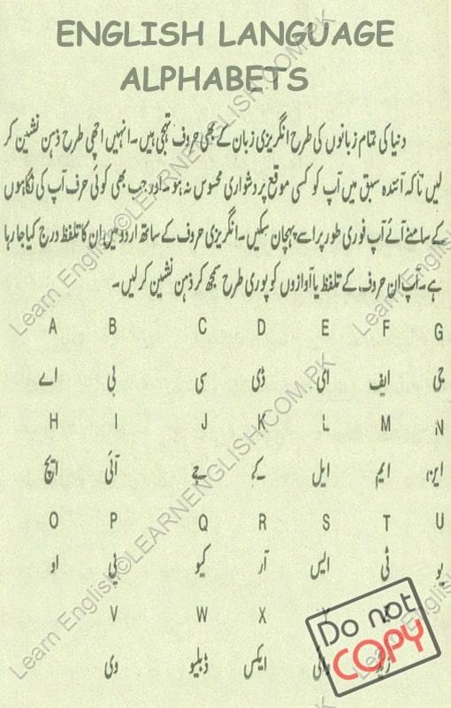 Learn Urdu Alphabets Through Punjabi - Photos Alphabet ...
